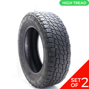 Set Of 2 Used Lt 275 65r20 Nitto Terra Grappler G2 A T 126 123s 8 5 9 5 32
