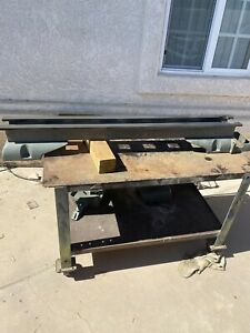Atlas Craftsman Commercial 12 Lathe 54 Bed And Leadscrew
