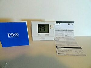 Pro1 T701 Wall Thermostat Heat Cool Non programmable Ac Air Conditioning