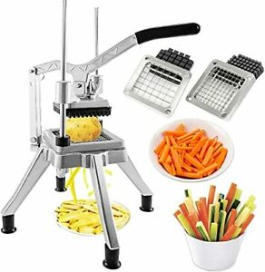 Commercial Vegetable Fruit Chopper Stainless Steel French Fry Cutter With