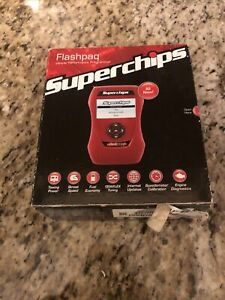 Superchips Flashpaq Handheld Tuner 3865 For Dodge And Chrysler Gas Vehicles