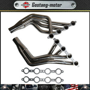 Headers Ls Conversion Swap For 1979 2004 Ford Mustang Fox Body Mustang 4 8l 5 3l
