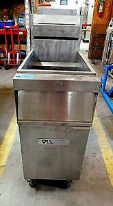 Vulcan 15 5 Freestanding Natural Gas Fryer 1gr45a For Parts Only Kit 19 507