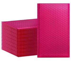 50 Pack Pink Padded Envelopes Bubble Self Seal Shipping Small 4 X 8 Mailers