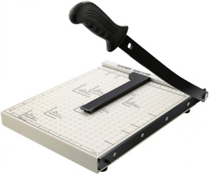 Paper Trimmer A4 Cutter Heavy Duty Photo Guillotine White