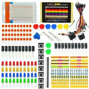Starter Kit Electronic Parts W led Jumper Wire Breadboard 11 Project For Arduino