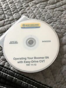New Holland Boomer 8n Easy Steer Compact Tractor Operator Cd