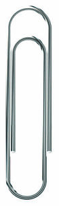 School Smart Smooth Paper Clip Jumbo 2 Inches Steel Pack Of 1000