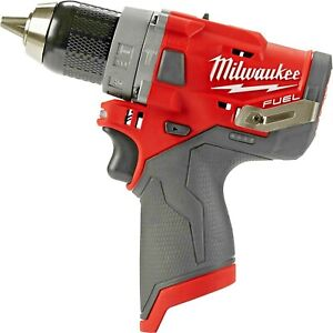 Milwaukee 2504 20 M12 Fuel Brushless Cordless 1 2 In Hammer Drill tool Only