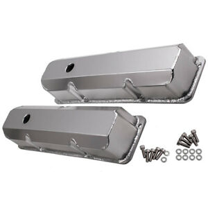 Aluminum Valve Covers For Ford 352 360 390 427 428 Fe Big Block Engines 1958 76