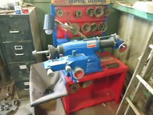 Ammco 4000b Disc Drum Brake Lathe W Bench And Hubless Adapter Kit