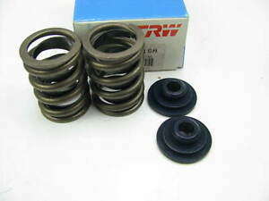 2 Trw Vs1018a Performance Valve Springs W Retainers Ford Sbf 289 302 V8