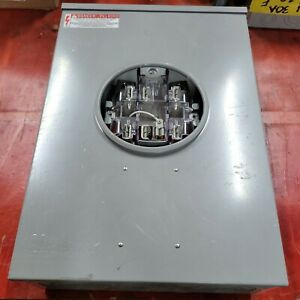 Milbank Type 3r Enclosure Series 742 30 4 Wire 600 Vac 200 Amp Continuous Line