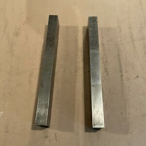 lot Of 2 Brown And Sharpe 920 Parallel Bars 12 X 2 X 1 Precision Machinist