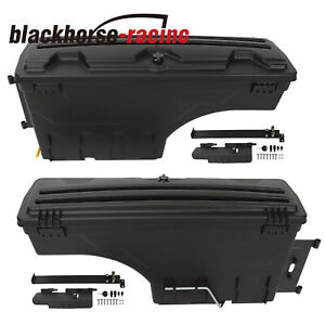 Driver Passenger Side Storage Tool Box Truck Bed For Chevrolet Gmc Dodge Ford