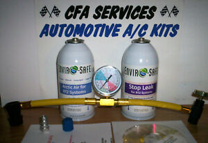 Refrigerant Service Kit Arctic Air Stop Leak For R12 Systems 1995 Older