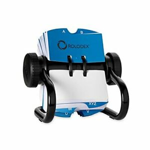 Rolodex 500 card Rotary Card File Business Card Holder