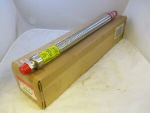 Crouse Hinds Ecgjh218 s516 Stainless Explosion Proof Flex Coupling 3 4 X 18