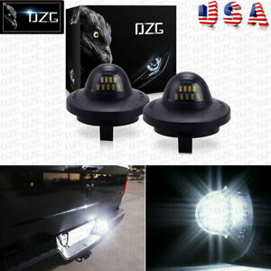 Fit Ford F 150 Pickup Truck Bright Smd Led License Plate Light F250 F350 1980 14