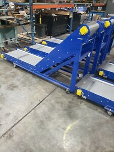 Inclined Ribbed Cleated Conveyor 3 Phase 890azn