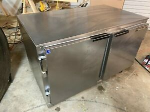 Beverage Air Ucr48a Commercial Undercounter Refrigerator Cooler On Casters 115v