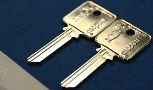 Medeco Patriot 6 Pin Blank Uncut Square Headed Keys Qty 2 For 1 Price