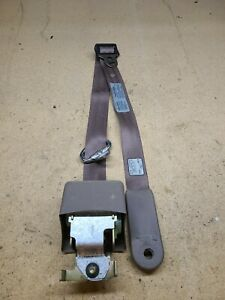 1992 96 Ford F150 F250 Extended Cab Lh Rear Seat Belt Retractor Tan