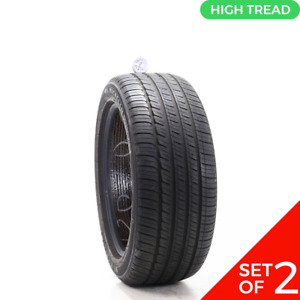 Set Of 2 Used 245 45r18 Michelin Primacy Tour A S 96v 8 9 5 32