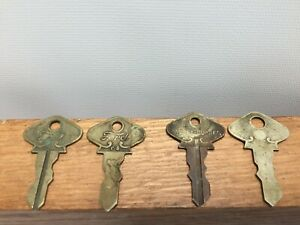 Vintage Ford Keys Model T 60 65 70 One Possible Spare Marked Caskey Dupree