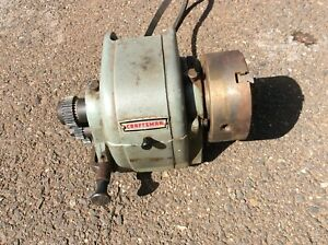 Nice Craftsman No 101 Six Inch Lathe Complete Headstock W 3 Jaw Chuck Gears