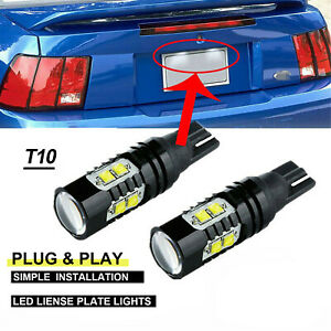 High Power 300w Cree T10 Led Bulbs For Cars Backup Reverse Lights 912 921 T15