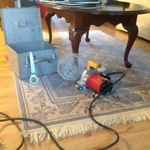 Mafell Flooring Groover router And Extra Blade