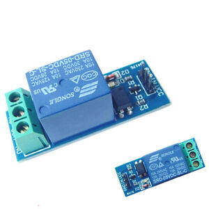 5v 10a One 1 Channel Relay Module With Optocoupler For Pic Avr Arm Dsp Arduino