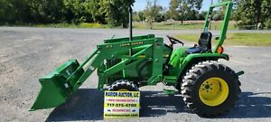 2003 John Deere 790 Compact Loader Tractor Only 87 Hours Very Sharp Tractor