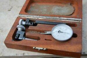 Alina Compac Geneve K26 Swiss Madetest Dial Indicator Gauge Gage In Wood Box