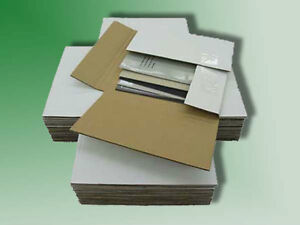 50 Variable Depth 45 Rpm Record Mailer Shipping Boxes Ships Free