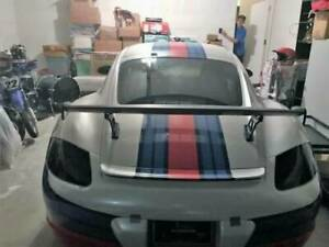 Unpainted For Porsche 981 987 Cayman Boxster Rear Trunk Spoiler Wing Gt4 Style