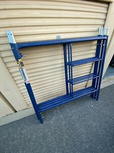 Used 1 Time 2 Metaltech Scaffold Pa Wing Mf6060p Steel Scaffold With Deck