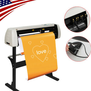 28 Plotter 720mm Paper Feed Vinyl Sign Cutting Plotter Tool W stand Useful