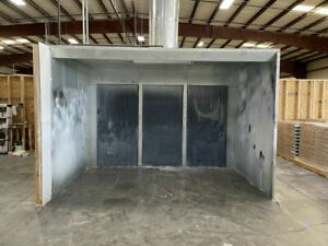 Col met Cp 23 3p 3 1f s 12 X 8 X 7 Spray Booth