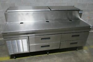 Delfield F18rc72 Refrigerated Reducer Height Rail 72 Salad Bar Buffet Station