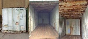 Lot Of 5 20ft Used Shipping Storage Containers Memphis Tn