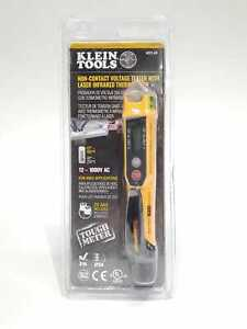 Klein Tools Ncvt 4ir Non contact Voltage Tester Pen 12 1000v With Thermometer