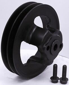 Ford Y Block 272 292 312 2v Groove Bolt On Cast Iron Harmonic Balancer Pulley