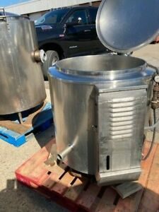 40 Gallon Stainless Steel Kettle By Dover Natural Gas Heat