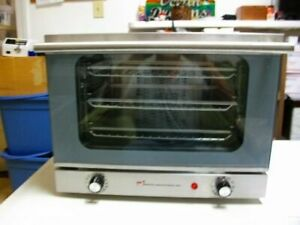 Wisco 620 Stainless Steel Commercial Counter Top Cookie Convection Oven