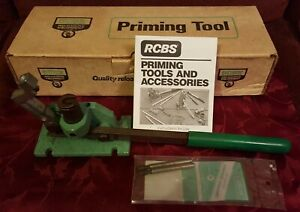 RCBS Automatic Priming Tool #09460 with 2 x Primer Feed Tubes $95.00