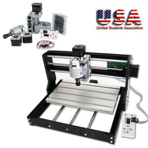 Useful Cnc Router Mini Laser Engraver Diy Wood Milling Drill Carving Machine