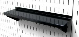 Pegboard Shelf 4in Deep Pegboard Shelf Assembly For Pegboard And Slotted Tool Bo
