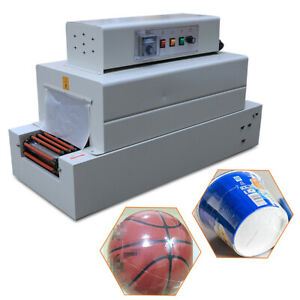 110v Shrink Packaging Machine Chain type Heat Shrink Machine For Packaging 4 8kw